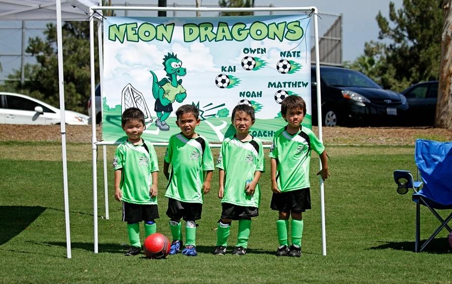 Soccer Team Banners
